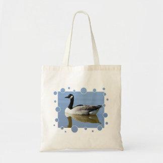 Goose with bubbles design bag