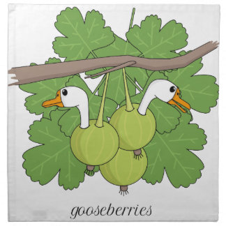 Gooseberries Napkin