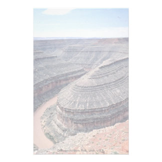 Goosenecks State Park, Utah, U.S.A. Stationery Paper