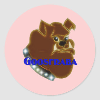 Goosfraba Bulldog Sticker