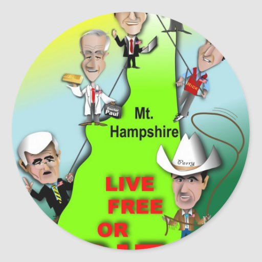 GOP Ascent of New Hampshire Sticker