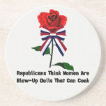 GOP Blow-Up Dolls Drink Coasters