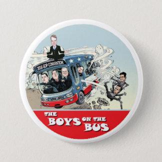 GOP Bus 7.5 Cm Round Badge