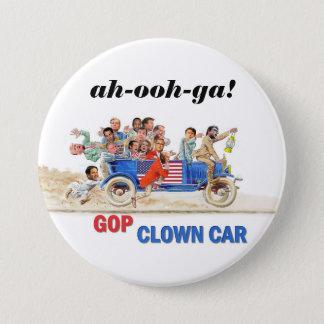 GOP Clown Car 7.5 Cm Round Badge