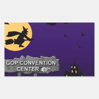 GOP Convention Center Rectangular Stickers