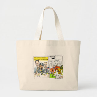 GOP Discovers Culture Of Intimidation Funny Jumbo Tote Bag