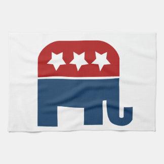 GOP elephant Logo republican design Towels