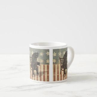 GOP Elephant Takes Over the Chair Funny Political Espresso Mug