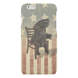 GOP Elephant Takes Over the Chair Funny Republican iPhone 6 Plus Case