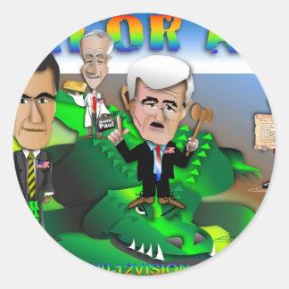 GOP Gator Aid Round Sticker