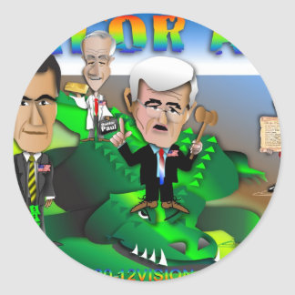 GOP Gator Aid Stickers