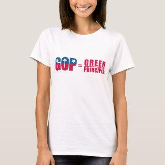 GOP = Greed Over Principle Ladies' Shirt
