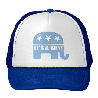 """GOP """"It's A Boy"""" Caps Cap"""