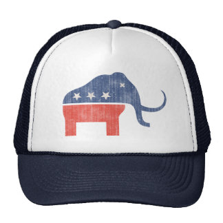 GOP Mammoth Logo Mesh Hat
