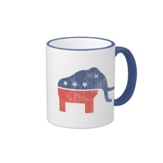 GOP Mammoth Logo Mugs