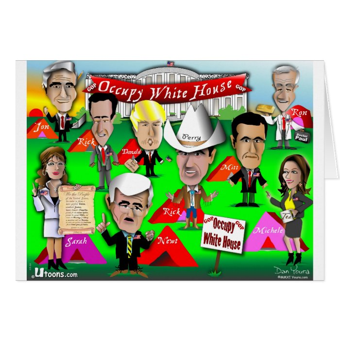 GOP Occupy White House Greeting Card