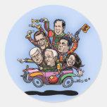 GOP Primary Car Round Sticker