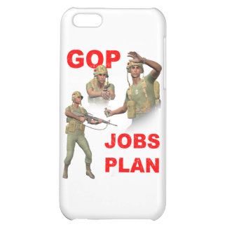 GOP, Republicans, Jobs Plan Cover For iPhone 5C