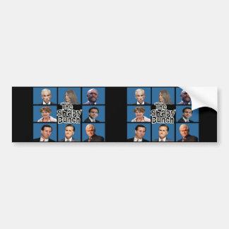 GOP - The Shady Bunch - Paul Romney Palin Bachmann Bumper Sticker