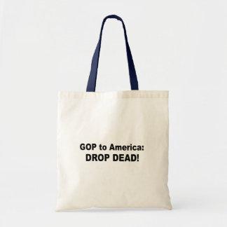 GOP to America - Drop dead Bags