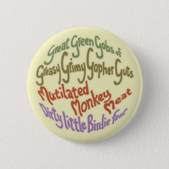 Gopher Guts 6 Cm Round Badge