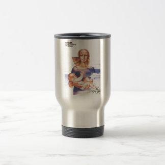 Gorbachev 010 stainless steel travel mug