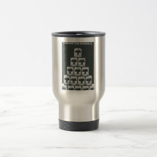 Gorbachev 015 15 oz stainless steel travel mug