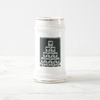 Gorbachev 015 18 oz beer stein