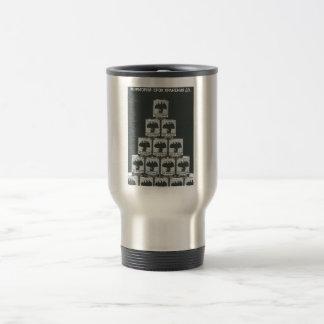 Gorbachev 015 stainless steel travel mug
