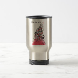 Gorbachev 182 15 oz stainless steel travel mug