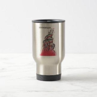 Gorbachev 182 stainless steel travel mug