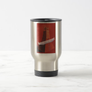 Gorbachev 184 stainless steel travel mug