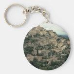 Gordes, Provence, France Keychain