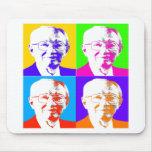 Gordon B. Hinkley Pop Art Mouse Pads