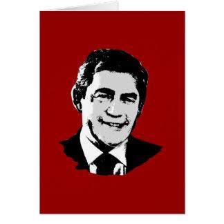 Gordon Brown Greeting Card