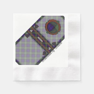 Gordon clan Plaid Scottish tartan Paper Serviettes
