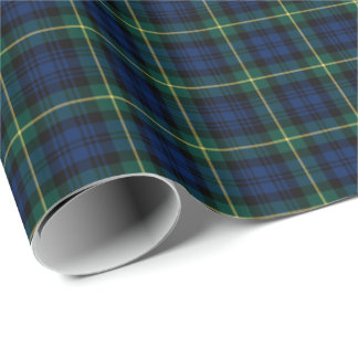 Gordon Clan Tartan Wrapping Paper