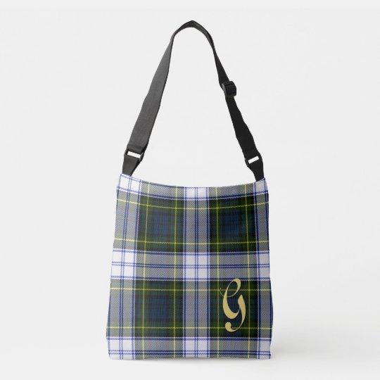 Gordon Dress Tartan Plaid Monogrammed Body Bag