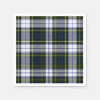 Gordon Dress Tartan Plaid Paper Napkins Disposable Serviette