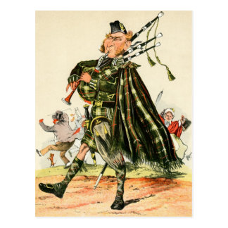 Gordon Highlanders - Piper Postcard