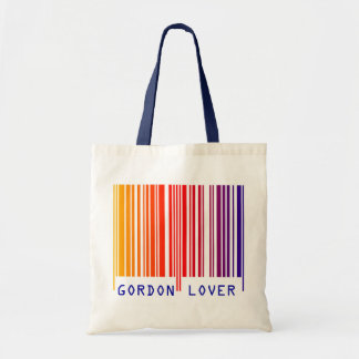 """GORDON LOVER"" Colored Barcode Tote Bag"