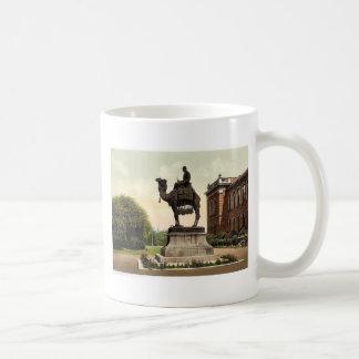 Gordon Memorial, New Brompton, England classic Pho Basic White Mug