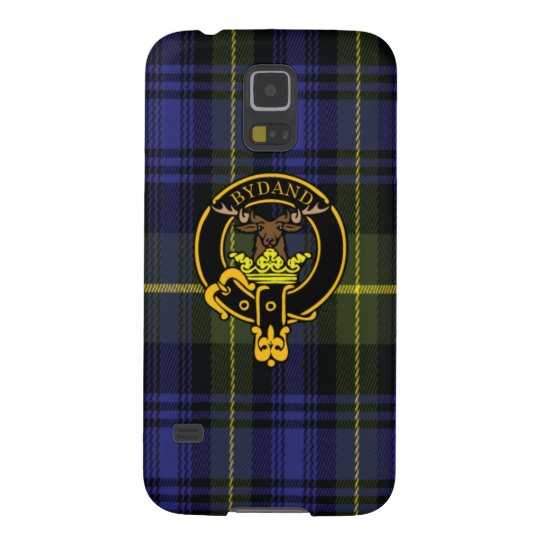 Gordon Scottish Crest and Tartan Samsung Case