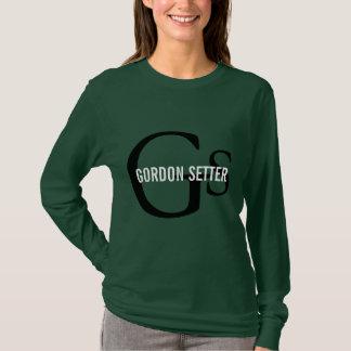 Gordon Setter Breed Monogram T-Shirt
