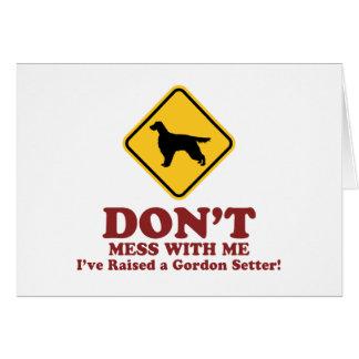 Gordon Setter Card