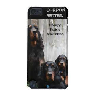 Gordon Setter Family Painting iPod Touch Case