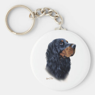 Gordon Setter Key Ring