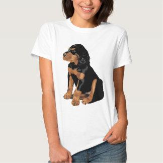 Gordon Setter Puppy Tee Shirt