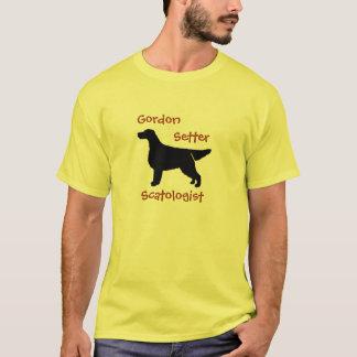 Gordon Setter Scatologist Cotton T-Shirt