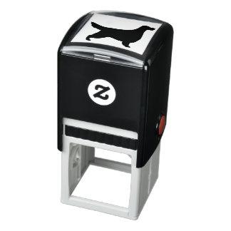 Gordon Setter Silhouette Self-inking Stamp